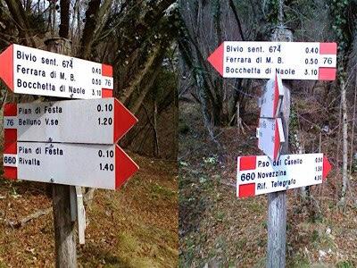 Difficoltà dei sentieri: la scala di misurazione