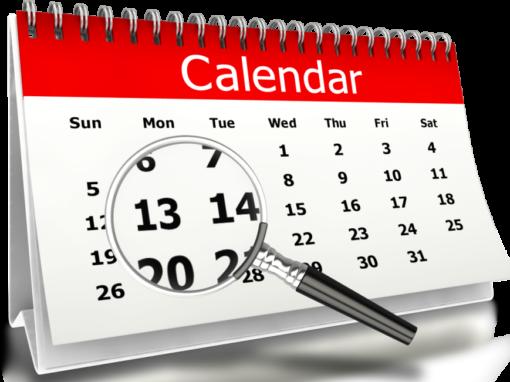 Calendario Eventi 2020
