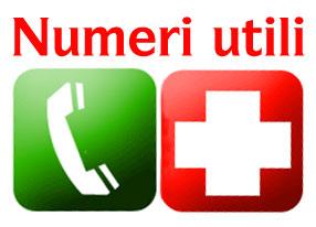 Siti web e Numeri Utili in caso di emergenza